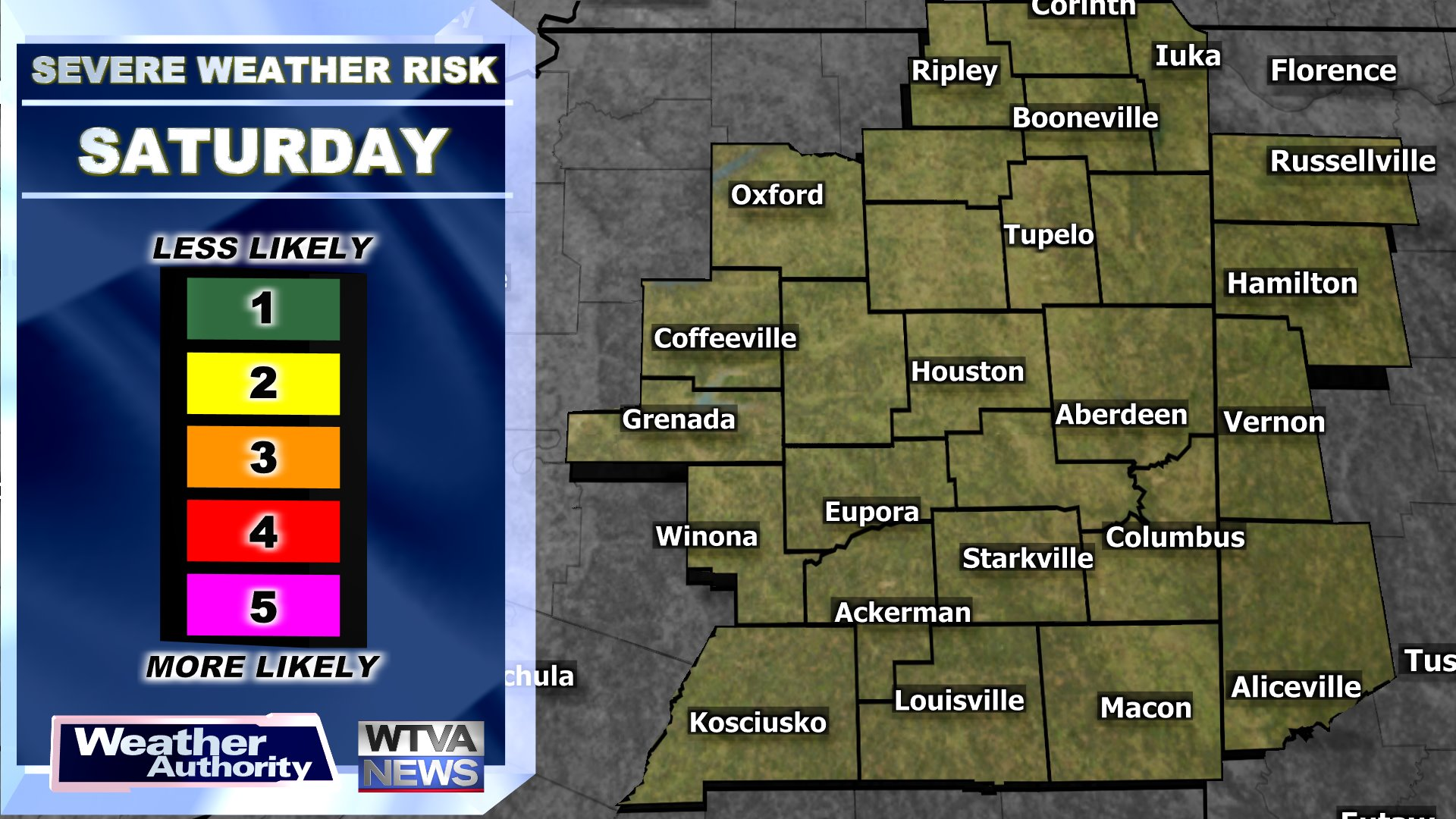 Tomorrow's Severe Weather Risk