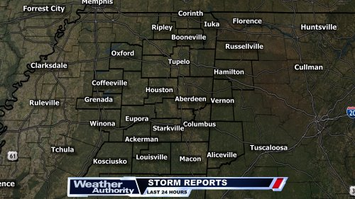 Today's Storm Reports